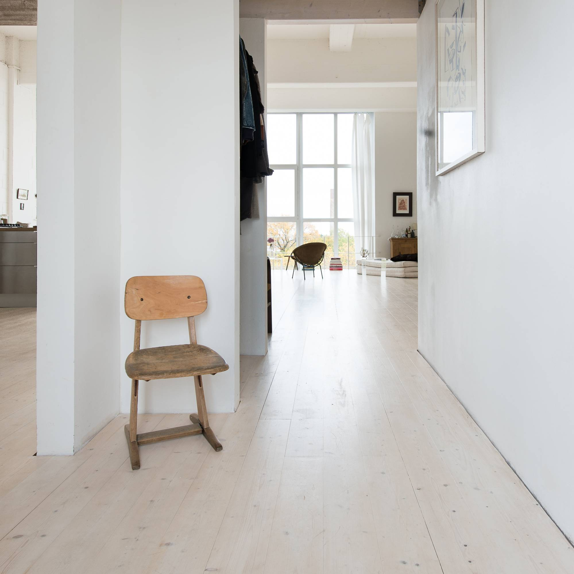Loft Interior Stuhl